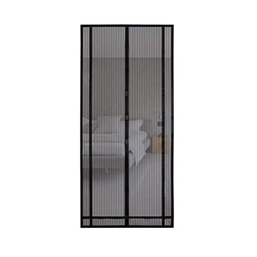 Amiispe Puerta de Pantalla magnética Puerta de Pantalla magnética Reforzada Se Adapta a Puertas hacia Arriba Pantalla de Puerta de Entrada de Cortina de Malla de Fibra de Vidrio