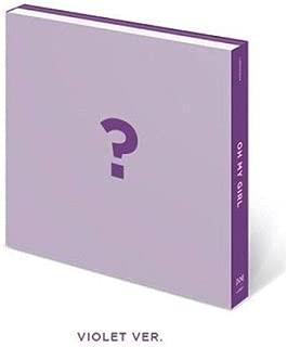 Oh My Girl - [Remember Me] 6th Mini Album Violet Ver CD+64p PhotoBook+1p Styling Card+1p PhotoCard+1p Film+1p Letter K-POP Sealed