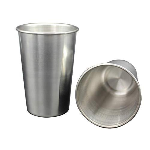 30-320ml Tazze in acciaio inossidabile Canecas Vino Birra Tazzina da caffè Tazze Bicchiere di metallo Tè Tazze da latte Cucina di casa Cucina Bicchieri Cozinha, Francia, 70ml