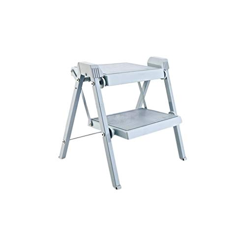 SZPZC Steps Ladders Step Stool, Foldable Thickened Ladder, Non-Slip Home Escalator Ladder Ladders