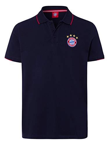 FC Bayern München Poloshirt Classic Navy, XXL
