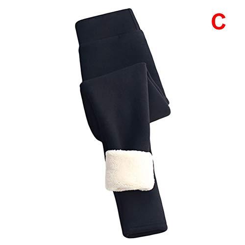 Fanville Dames Winter Dik Warm Thermische Stretchy Leggings Broek Leggings Hoge Taille Stretchy Zacht voor Outdoor