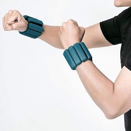 EIN Paar Beine Gewicht f/ür Jogging-Jogging-Walking Aerobic-/Übung-Gymnastik-Fitness JINBAOYA 2 PC justierbare Kn/öchel Gewichte Fu/ßmanschetten Wrist Straps