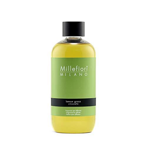 Millefiori Milano Ricarica per Diffusore di Aromi per Ambiente, Fragranza, Giallo, 250 ml