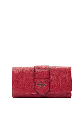 s.Oliver RED LABEL Damen Portemonnaie mit Zierriegel red 1