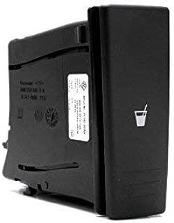 Portavasos Original Volkswagen Polo 9N Portavasos para consola central, derecha 6Q0858602G1QB: Amazon.es: Coche y moto