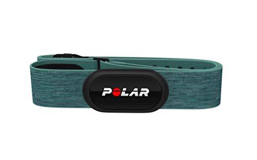Polar H10 Herzfrequenz-Sensor, Türkis, M-XXL, Unisex, ANT+, Bluetooth, EKG, Wasserdichter Herzfrequenz-Sensor mit Brustgurt