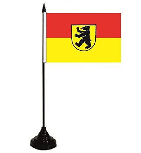 U24 Tischflagge Bernau im Schwarzwald Fahne Flagge Tischfahne 10 x 15 cm