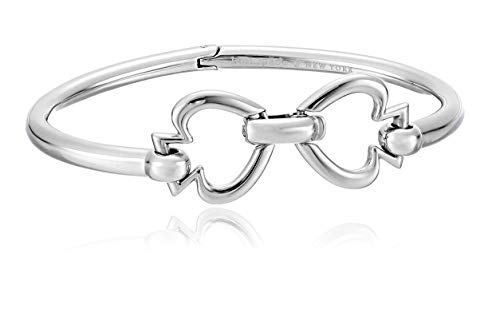 Kate Spade New York Spade Link Bangle Silver One Size