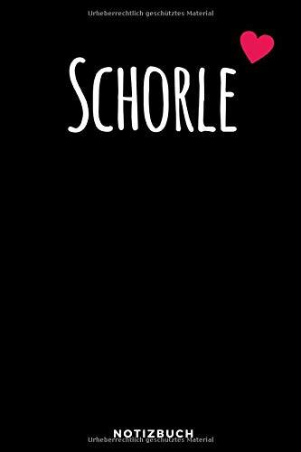 Schorle Notizbuch: Notizbuch für Winzer Wein Trinker und Weinbau Meister, Punktraster, 120 Seiten, Softcover, tolles Geschenk