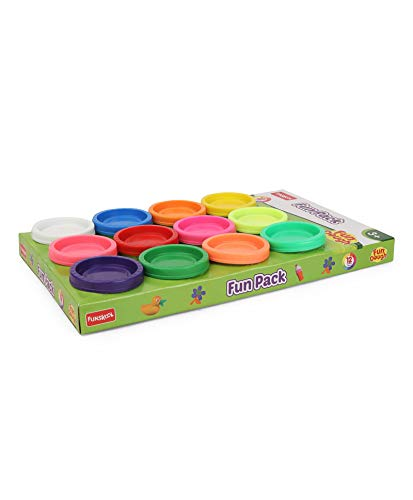 Fundough - Fun Pack , Shaping and Sculpting , 3years + , Multi-Colour 4