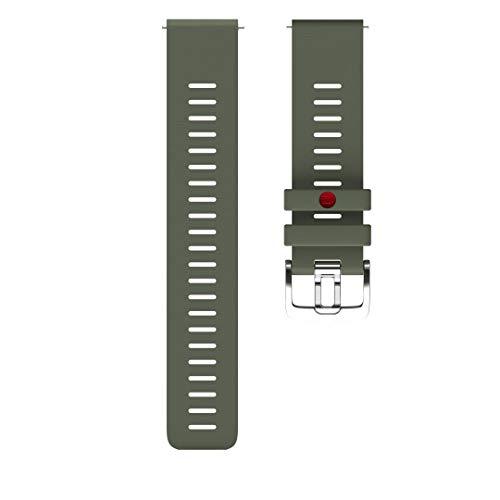 Polar Unisex– Erwachsene Wrist Band 22 mm Uhrenarmband, Grün, M/L