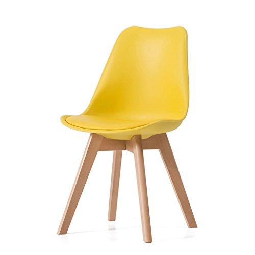 Fauteuils Chaise longue en bois massif à la maison Chaise longue à la chaise en bois Fauteuils et Chaises (Couleur : Le jaune)