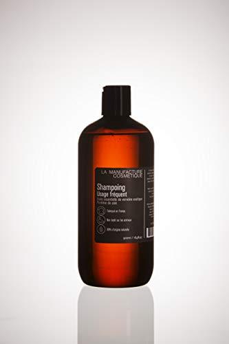La Manufacture Cosmétiques Shampoing Quotidien 99% Naturel. tout Types de Cheveux 500 ml