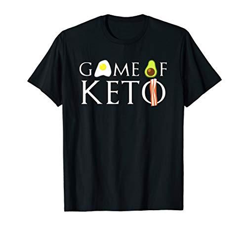 Game Of Keto - Keto Avocado Egg Bacon Girls / Men T-Shirt