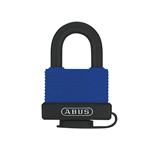 ABUS 70IB50 Marine Grade Aquasafe All Weather Shackle hangslot, Zwart/blauw
