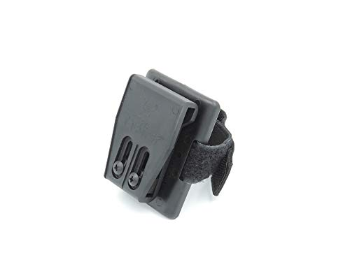 TacFirst Holster drehbar Handschuhhalterung, Schwarz, One Size