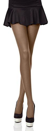 Merry Style Collant da Donna Opaco in Microfibra 70 DEN (Avana,...