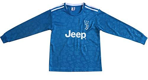 FCRM 2018/2019 New #7 Cristiano Ronaldo Kids Away Long Sleeve Soccer Jersey & Shorts Youth Sizes