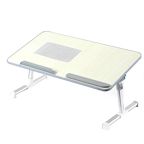 RUIRUIY Klapptisch Campingtisch Falttisch Haushalt Lernpult Multifunktionaler Lazy Table for Erkerfenster, Silber-Grau (Color : A, Size : 60x33x32cm)