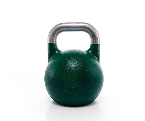 Suprfit Pro Competition Kettlebell - Kugelhantel für Krafttraining und Cross Training, Gewicht: 24 kg, Schwunghantel geeigent zum Reißen, Stoßen und Drücken, Studio Qualität, Material: Stahl