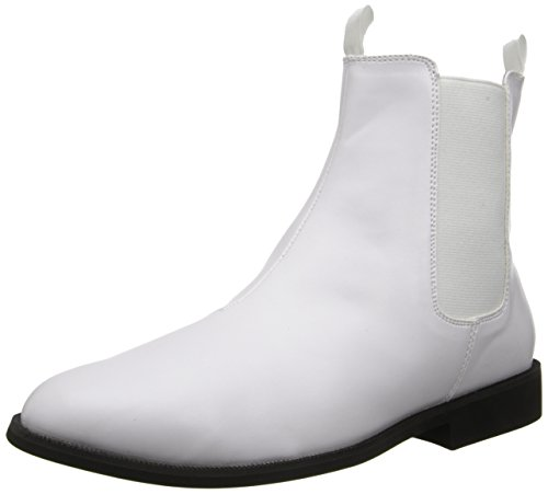 Funtasma Trooper-12 Herren Klassische Stiefel, Weiß (White), 46 EU
