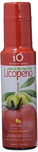 iO Aceite de Oliva Virgen Extra con Licopeno Antioxidante Natural - Paquete...