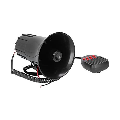 Gaeirt Sirena de bocina de automóvil, bocina de Alarma de automóvil práctica para Advertir a Otros y Eventos Grandes
