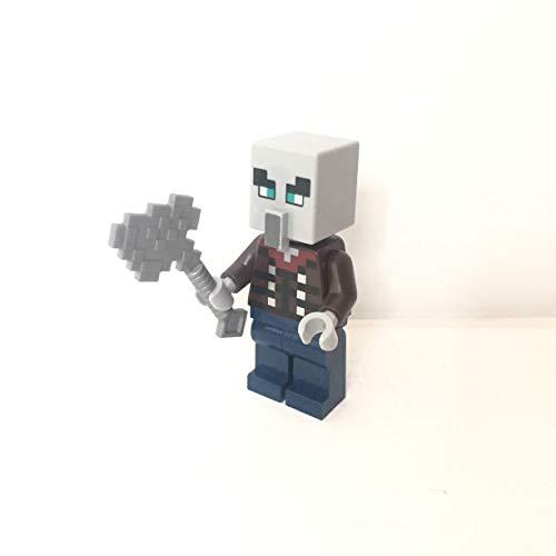 maisterkaio-de Lego Figur Illager mit Axt -- Minecraft -- (aus Set 21160, mit anderem Lego Kompatibel)