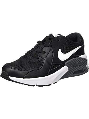 Nike Air MAX Excee (PS), Zapatillas, Negro/Blanco-Gris Oscuro, 35 EU