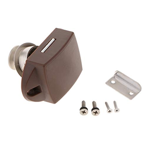 freneci Keyless Large Push Button Locks Button Catch Knob for RV Camper Motor Home
