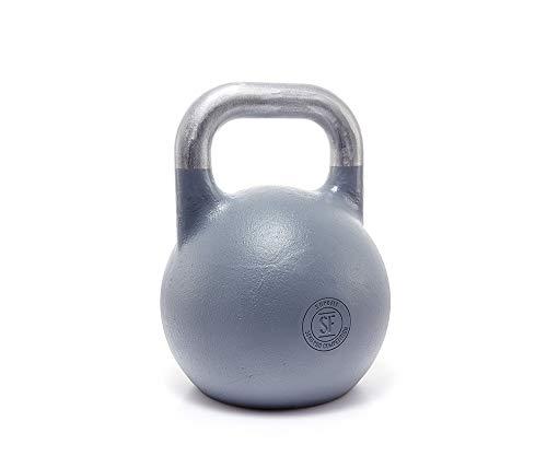Suprfit Pro Competition Kettlebell - Kugelhantel für Krafttraining und Cross Training, Gewicht: 36 kg, Schwunghantel geeigent zum Reißen, Stoßen und Drücken, Studio Qualität, Material: Stahl