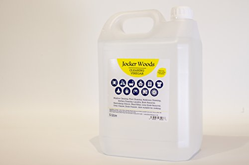 Pack of 2 (2x5 Litre) Jocker Woods Cleaning Vinegar with The Fresh Smell of...
