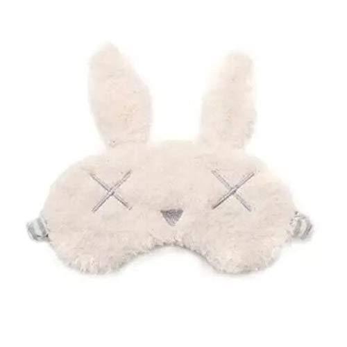 Harige schattige zoete schaduw oogmasker, konijn kat meisje slaap oogmasker