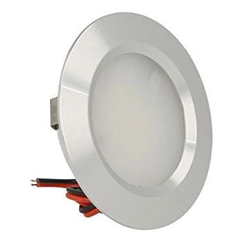 Faretto a LED da incasso Kohree auto 3 W Confezione da 4 per barca 3000 K 12 V cabina