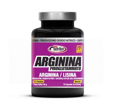 ProNutrition ARGININA PIROGLUTAMMATO (70 cpr) Arginina piroglutammato+Lisina