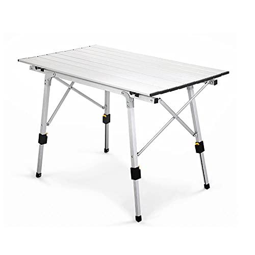 N \ A Mesa De Picnic De Aleación De Aluminio Al Aire Libre Mesa Plegable Impermeable para Acampar Y Silla Mesa Plegable Duradera para Acampar