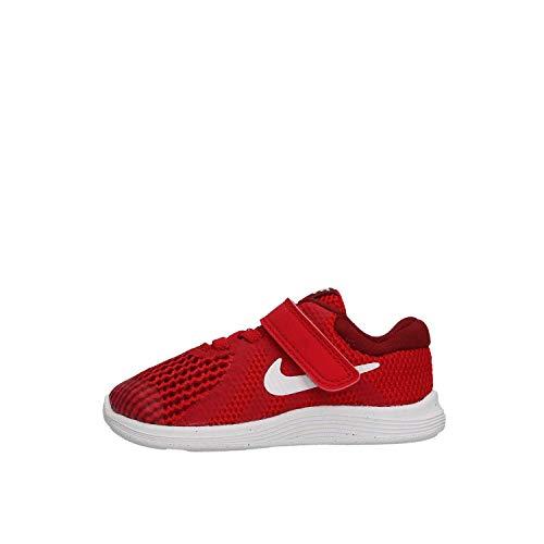Nike Revolution 4 (TDV), Scarpe da Ginnastica Basse, Rosso (601 Gym Red/White-Te 601), 21 EU