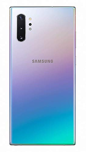Best Back Cover Glass Housing Door Replacement, w/Adhesive Installed Camera Frame w/Lens for Galaxy Note10 (All Versions T-Mobile Sprint AT&T Verizon US-Cellular and All other Carriers) (Aura Glow)