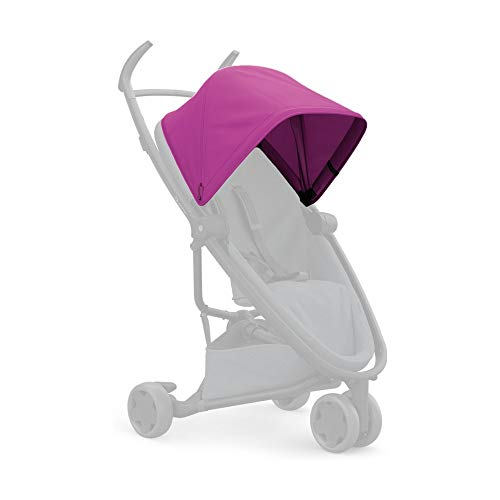 Quinny Zapp Flex Suncanopy, Sonnenschutz, Sonnenblende für den Zapp Flex Kinderwagen & Buggy, rosa
