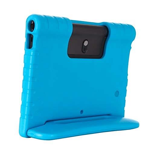 QiuKui Tab Funda para Lenovo Yoga Smart Tab YT-X705 10.1, Niños a Prueba de Golpes EVA Stand Handing Cover para Lenovo Yoga Tab 5 (Color : Azul, Talla : For Tab5 YT X705F)