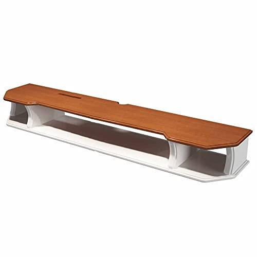 Mueble TV de Pared, Mueble de TV Flotante con 3 Compartimentos de Almacenamiento, Consola de TV Colgante para Sala de Estar Dormitorio/A / 90cm