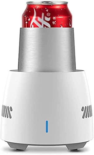 Taza de enfriamiento inteligente, nevera portátil Mini nevera eléctrica bebida refrigerador refrigerador bebida, bebida instantánea taza de enfriamiento rápido, casa para la casa