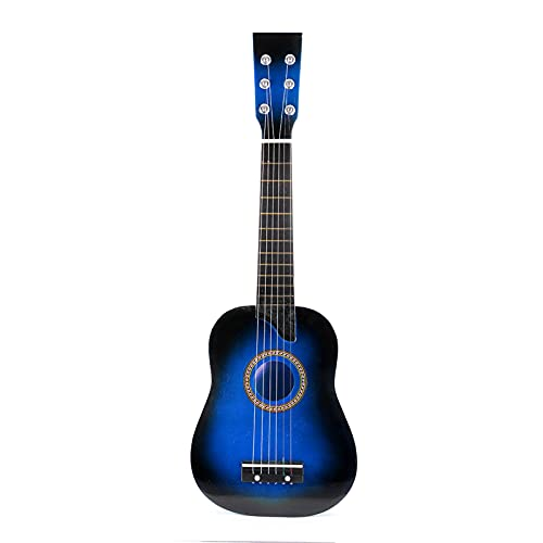 Electric Guitar 25 Inch Acoustic Guitar 6 String Kids Wooden Guitar For Beginner Stringed Musical Instrument StringBeginner For Party Sturdy