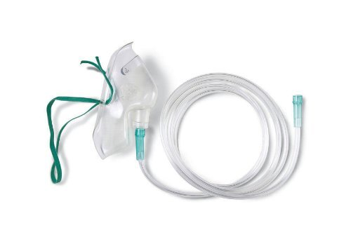 HCS4600B - Adult Disposable Oxygen Masks,Adult by Medline
