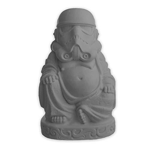 muckychris Stormtrooper Buddha   Star Wars   Arctic White 2'