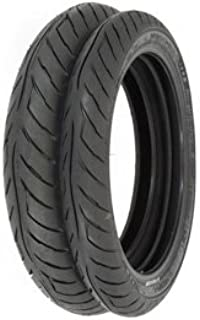 Avon Roadrider AM26 Tire Set - Compatible with Honda CB750 Nighthawk - 1991-2001 - Tires Only