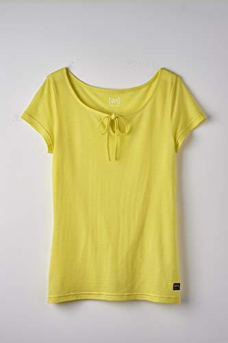 Super.Natural T-Shirt Confortable pour Femme en Laine mérinos W Relax L Mélange Aurora.