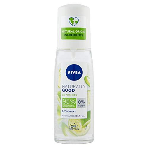 Beiersdorf Nivea Deodorante Naturally Good Pump Spray - Bio Aloe Vera - 196 g