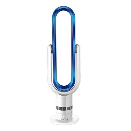 KK Gabby Ventiladores USB, Ventilador Sin Cuchilla De Pie Portátil - Ventilador De Enfriamiento De Flujo De Aire De Control Remoto, Azul